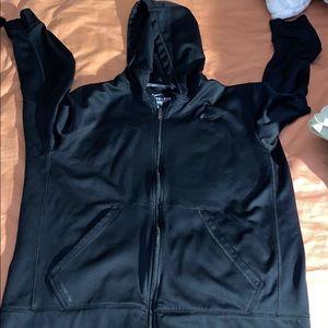 Black nike zip up